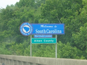 Welcome to South Carolina!