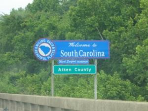 Welcome to South Carolina!