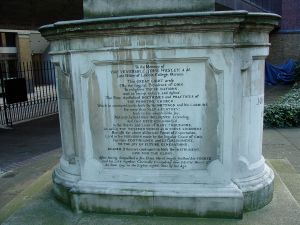 John Wesley's Epitaph - Sans 'Best of All, God is with us'