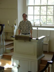Me in the Pulpit