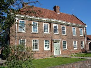 Outside view of the Epworth Old Rectory